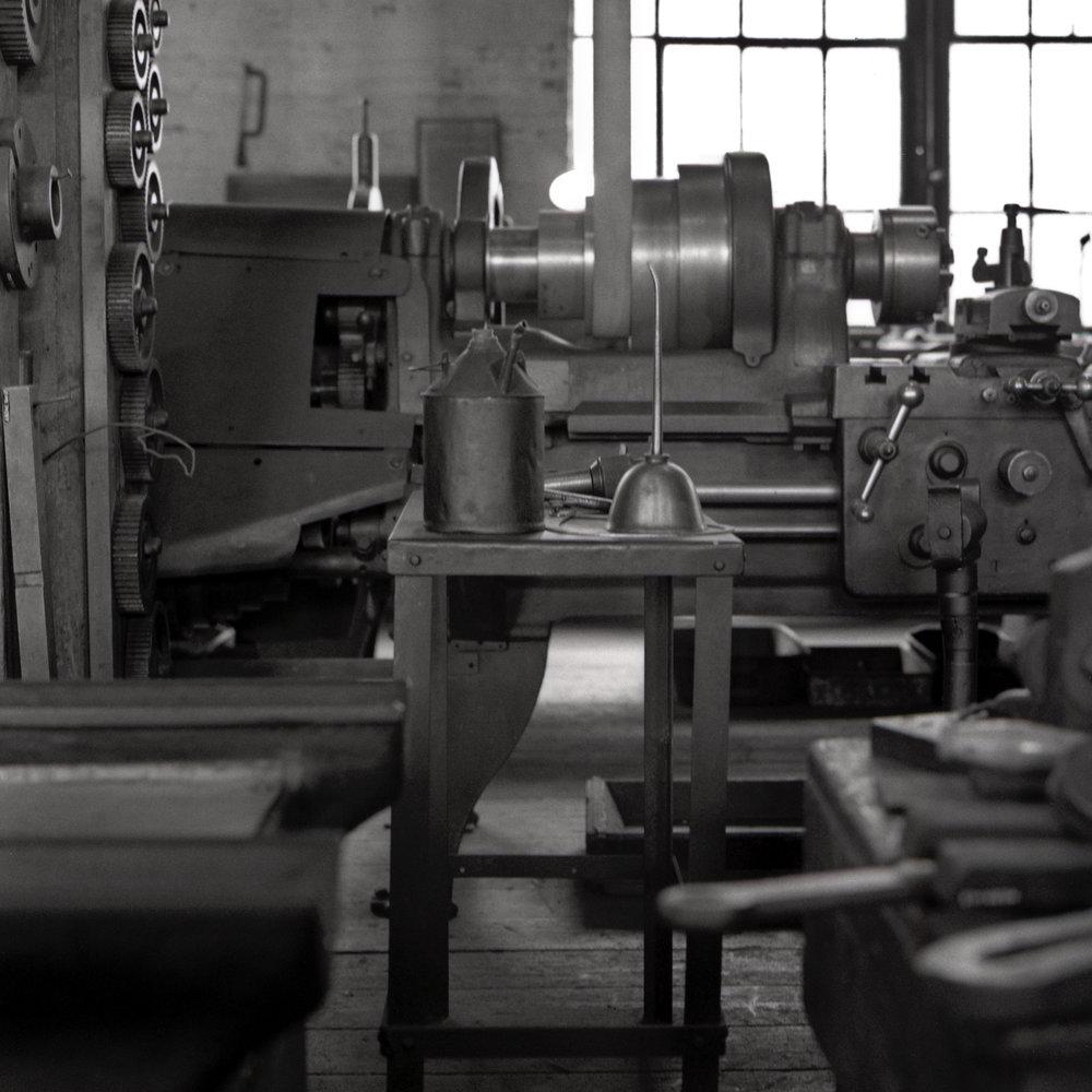 Machine shop. Thomas Edison National Historic Park. West Orange, New Jersey.
