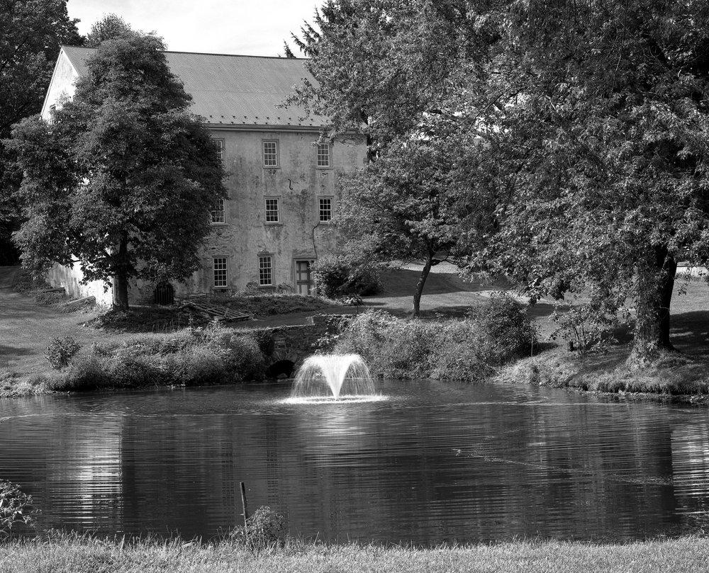 Kerst-Bertolet Mill. Oley, Pennsylvania. Built 1841.