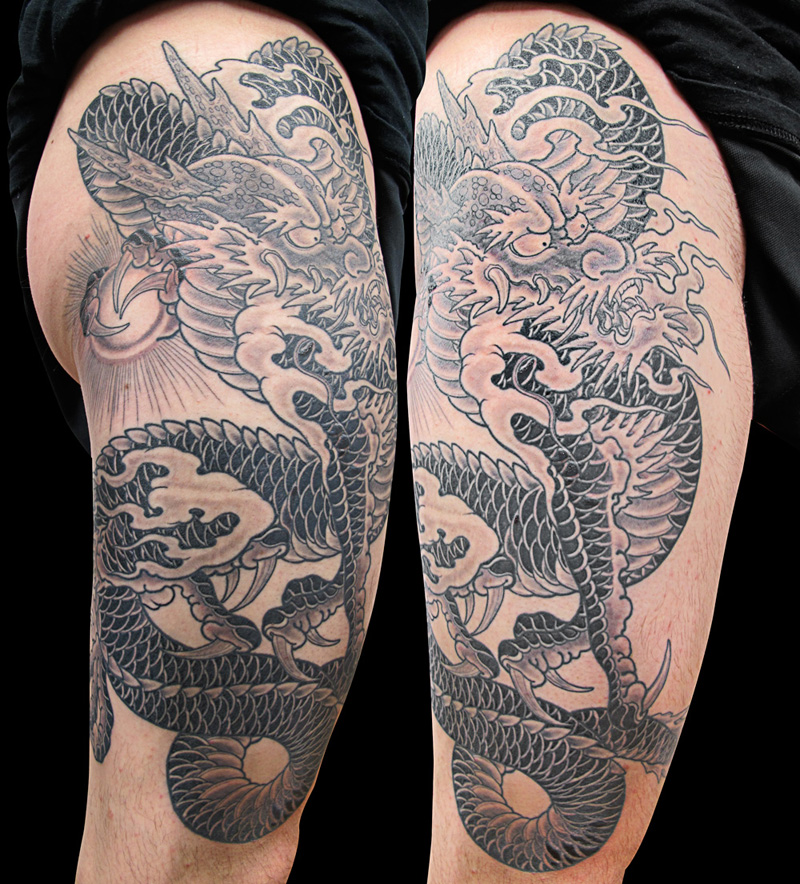 Dragon tattoos Rhys Gordon japanese tattoos Sydney tattoo Studios.jpg