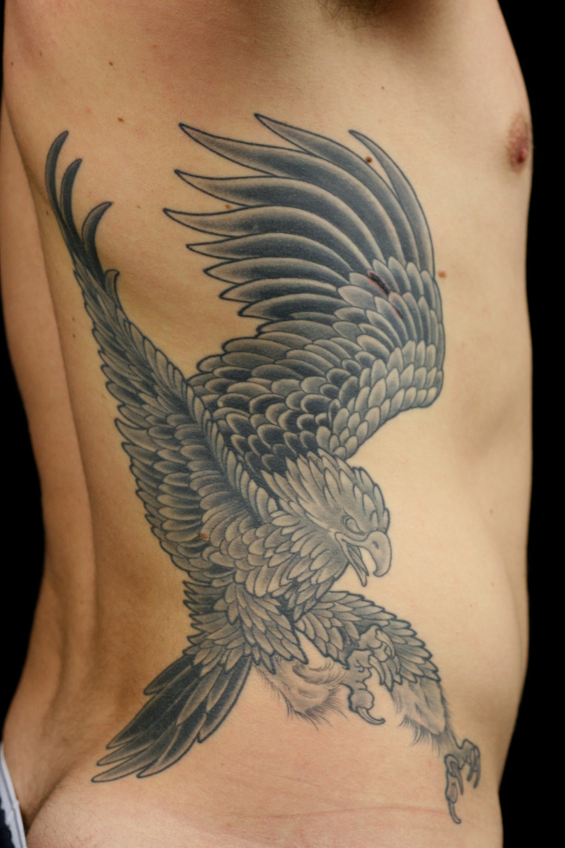 japanese eagle tattoo. Black Bedroom Furniture Sets. Home Design Ideas