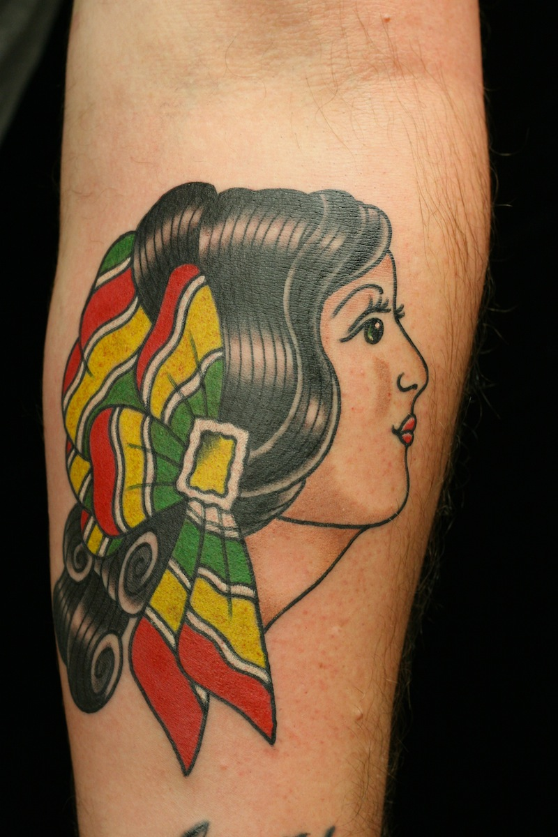 Gypsy Tattoo Traditional tattoo Sydney tattoo.JPG