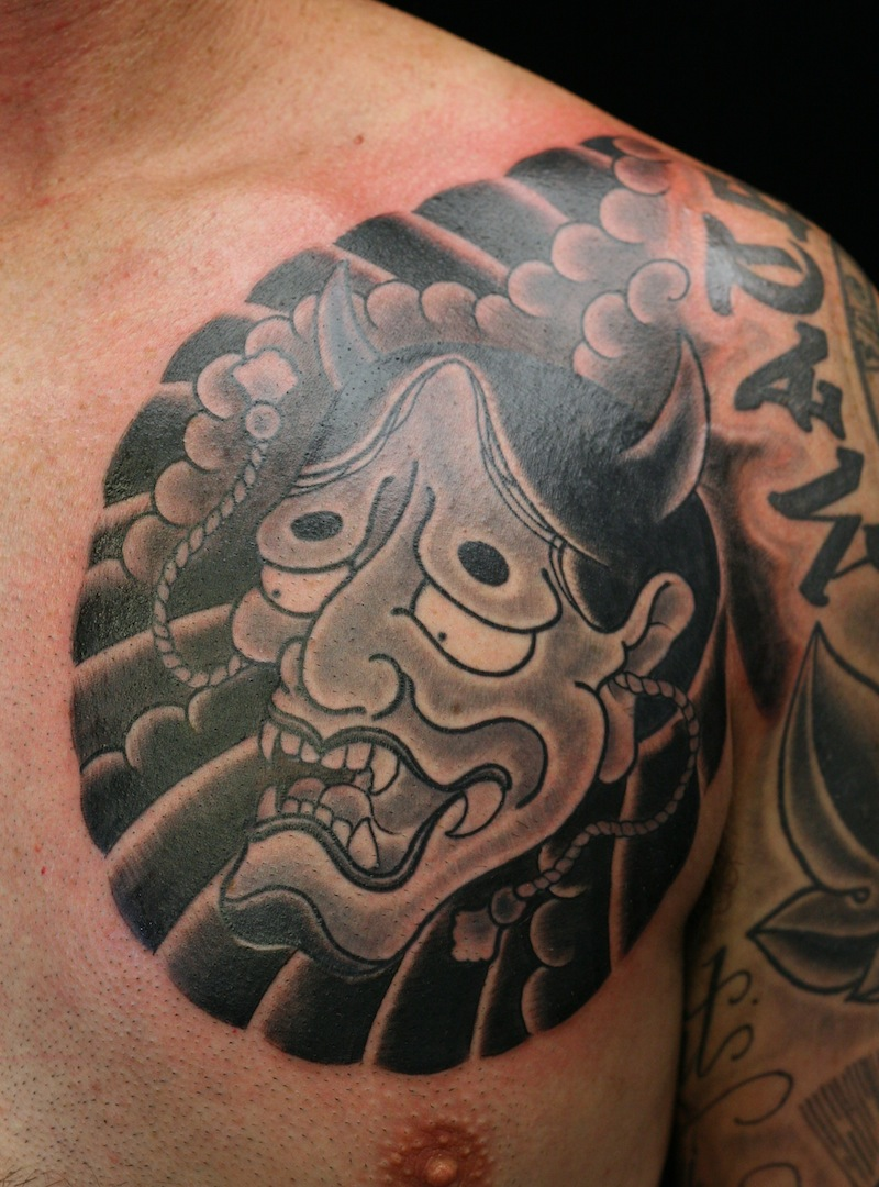 Hannya Tattoo Japanese Tattoo Sydney Rhys Gordon.JPG