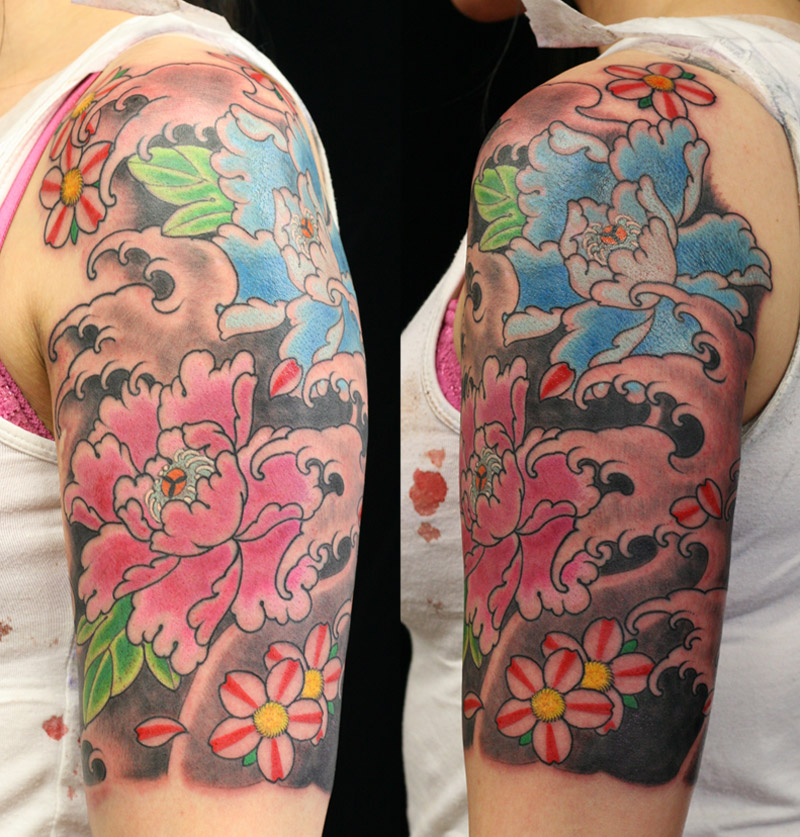 Peonie tattoo Flower Tattoo Sydney.jpg