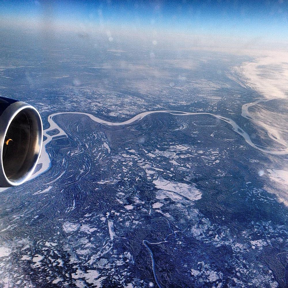 White rivers, white lakes