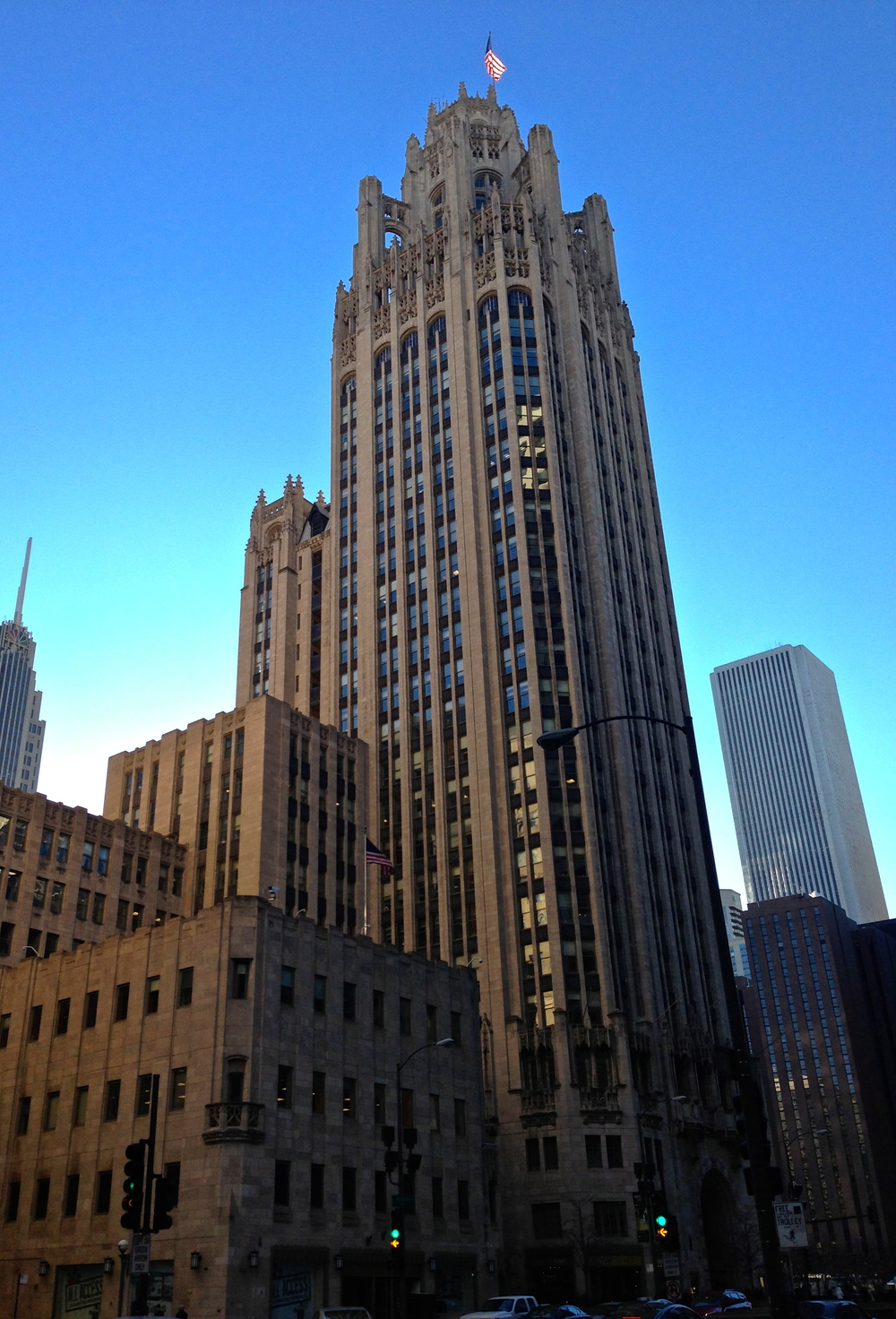 The 1925 Tribune Tower