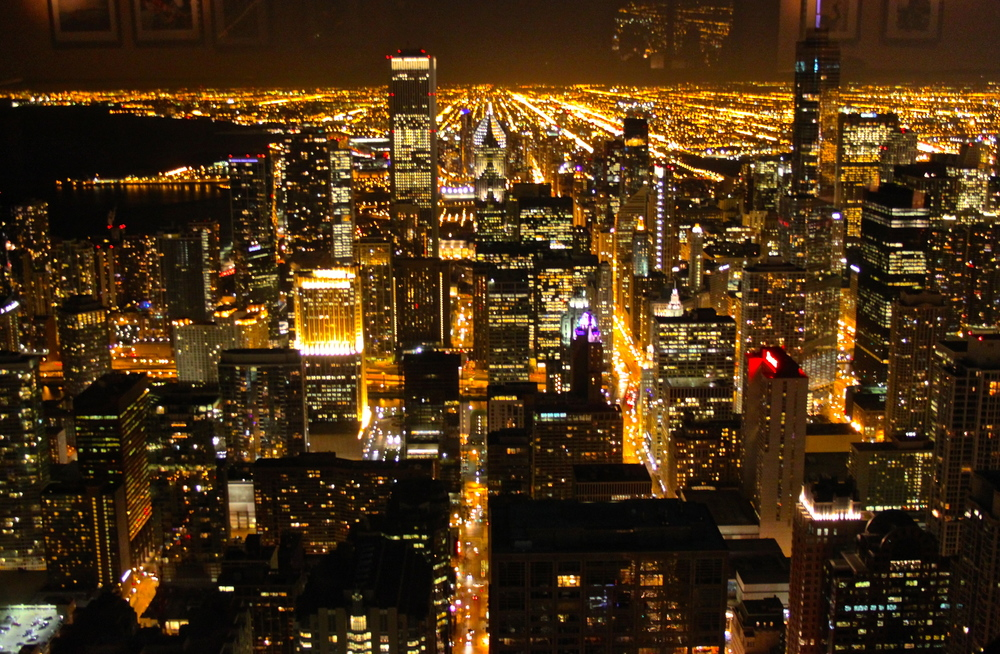 Chicago from the 96th floor