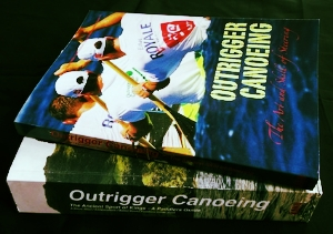 Outrigger canoeing and steering book 'combo' savings package. Inclusive of p&p no more to pay.