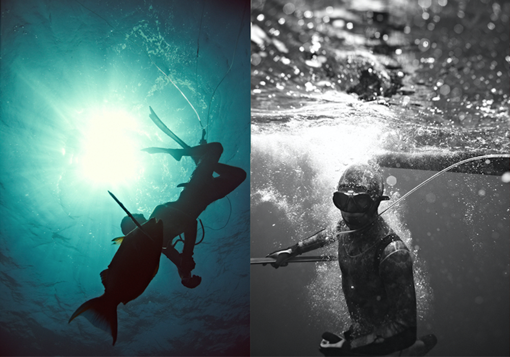 Photos by Bummy Santa Barbara California. Spearfishing - definitely waterman status family related.