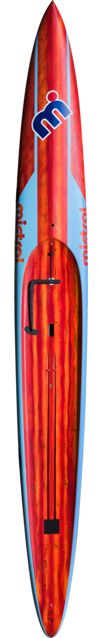 2018 Interceptor Mistral unlimited board by Diplock/West - designed for 'heavy' paddlers according to Mr Caine, though I don't remember that being in my head when I set out with the design?