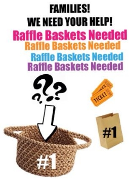 Students can buy tickets during lunch Feb. 26 - March 6 1 for $.25    5 for $1.00 Basket Drawing is March 6th