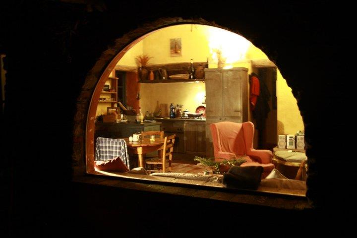 A window into my life ... pic Smilin' Vic took in Tuscany from the outside looking in.