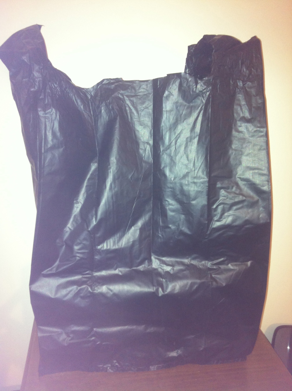 The infamous 'black bag'.
