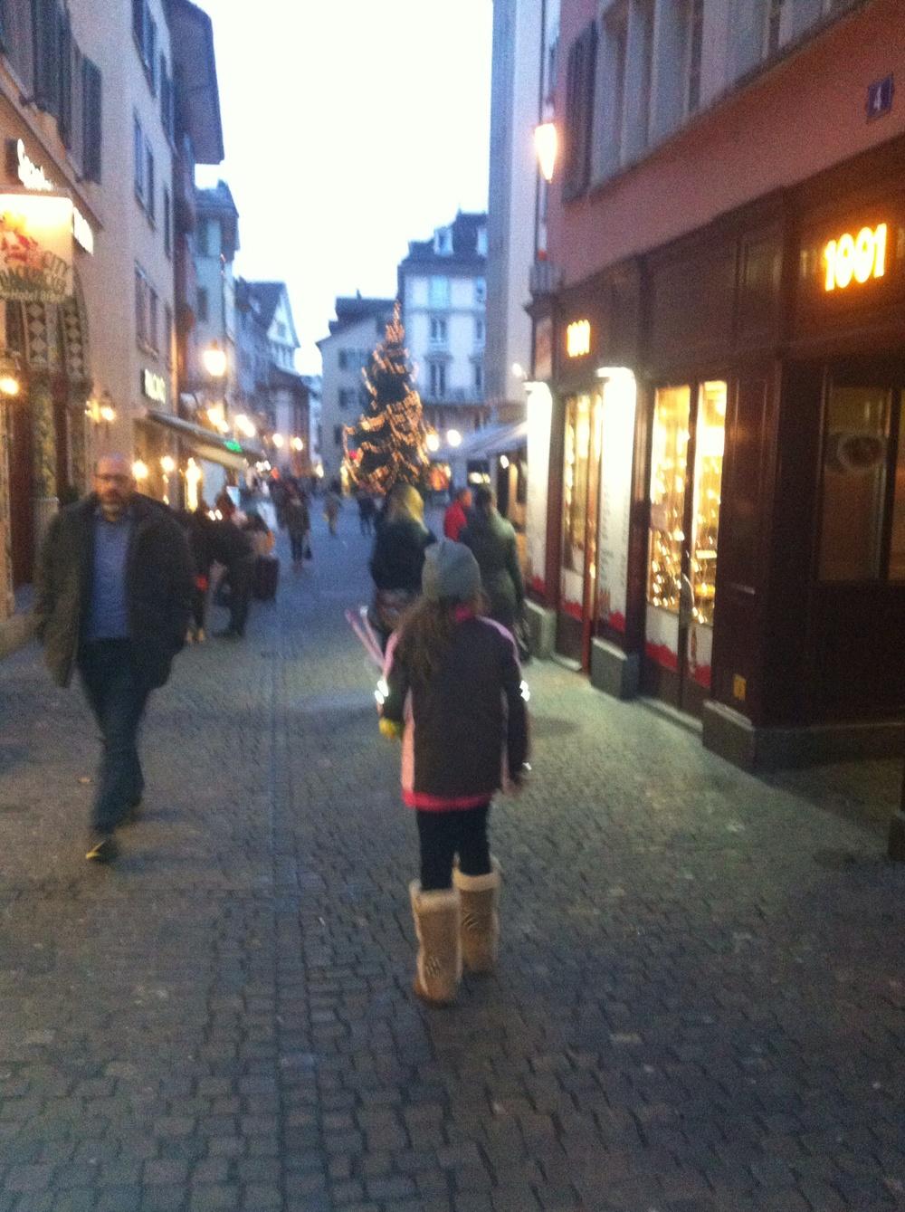 Zurich strollin'.