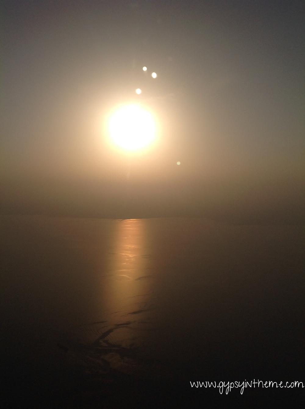 Landing in Doha ...