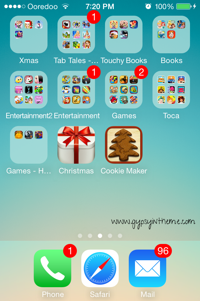 Just a sampling of the apps available to Kiddo on my phone ...