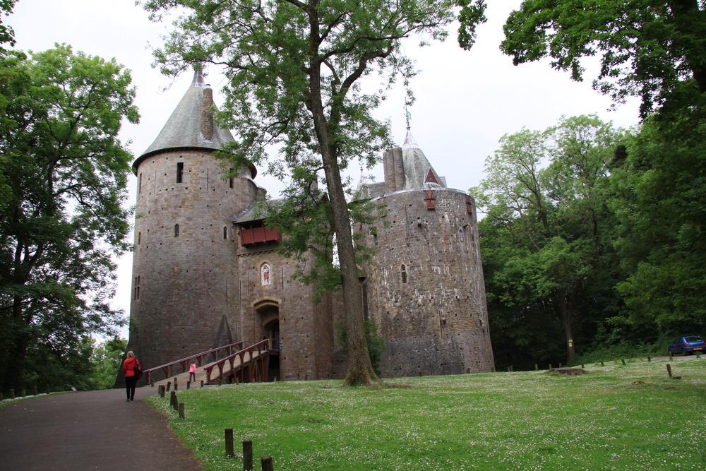 Castle Coch, near Cardiff, Wales.