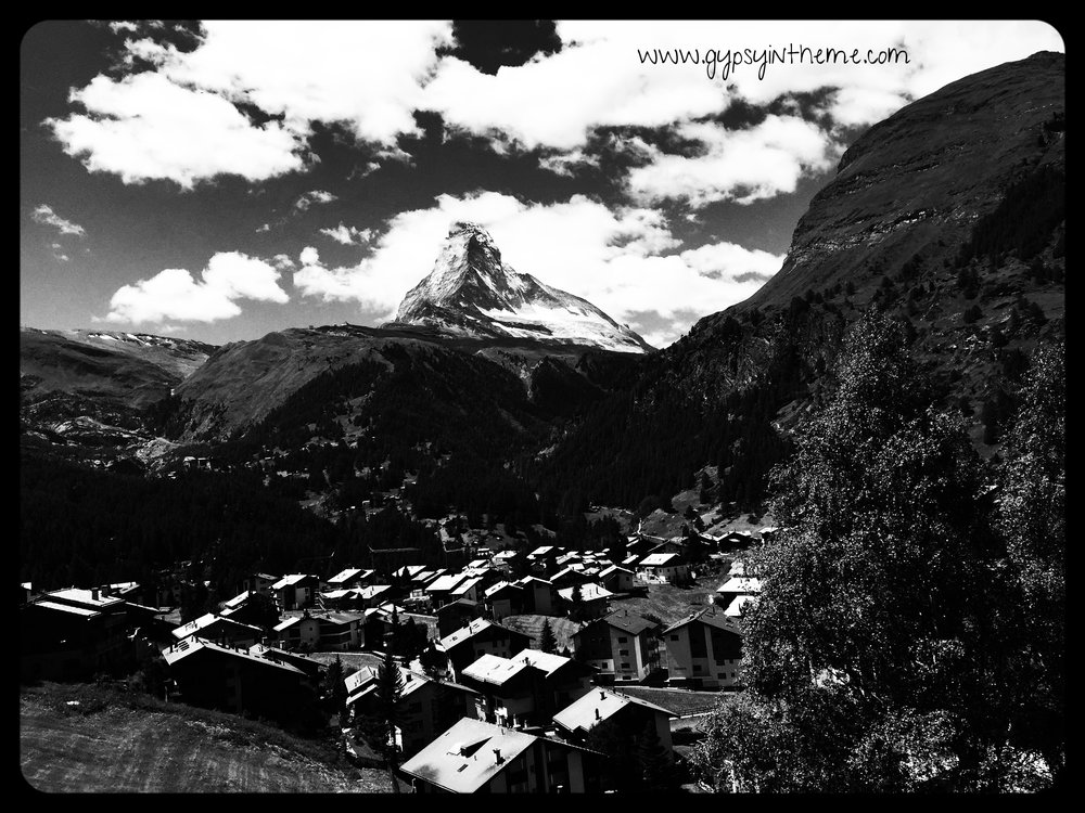 View of the Matterhorn, Zermatt, Switzerland.