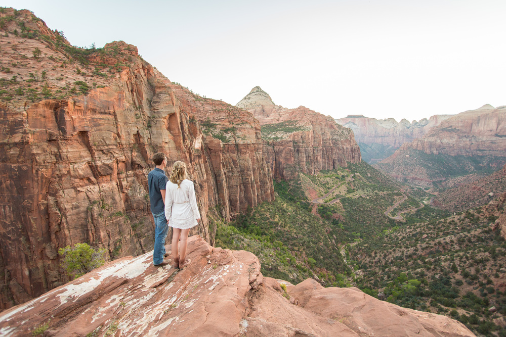 zion national park engagements