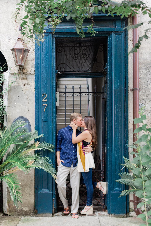 kailee-dimeglio-charleston-downtown-engagement