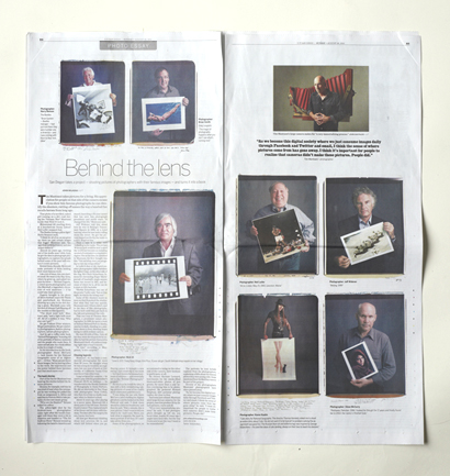 behind photographs UnionTribCopy blog
