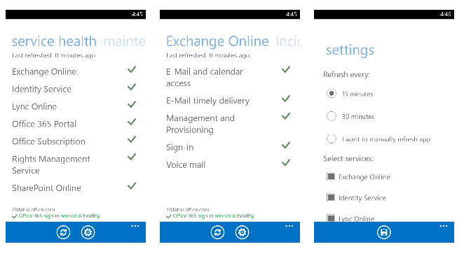 Office 365 Admin app is now on Windows Phone, Android and