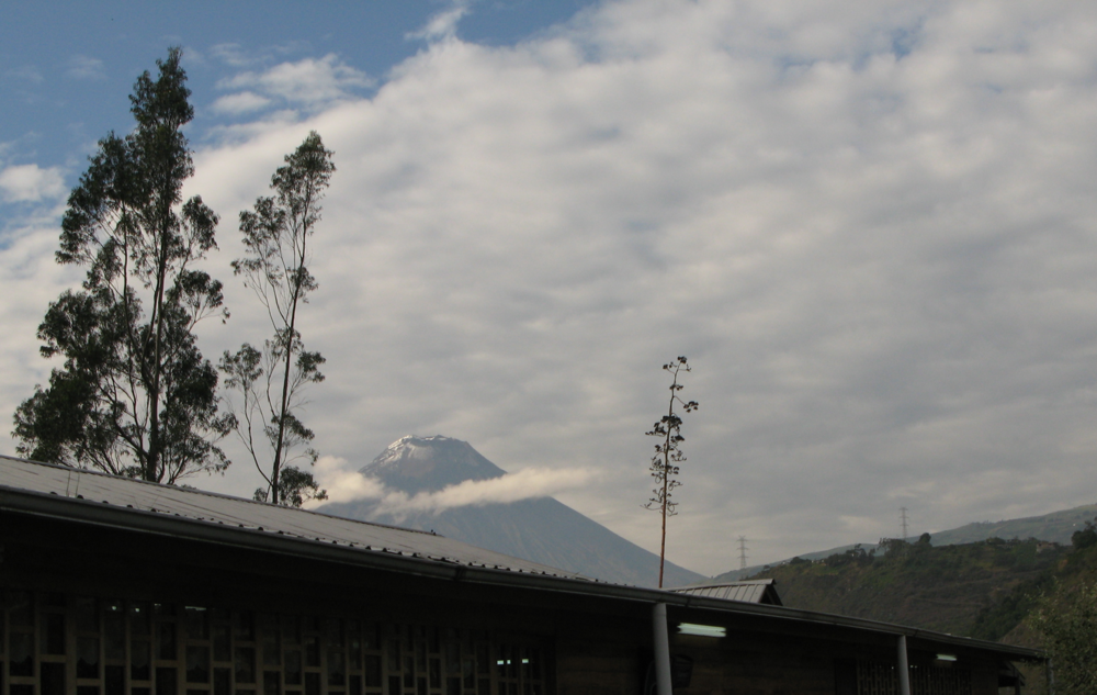 "One last volcano picture.  Tungurahua means ""throat of fire"""