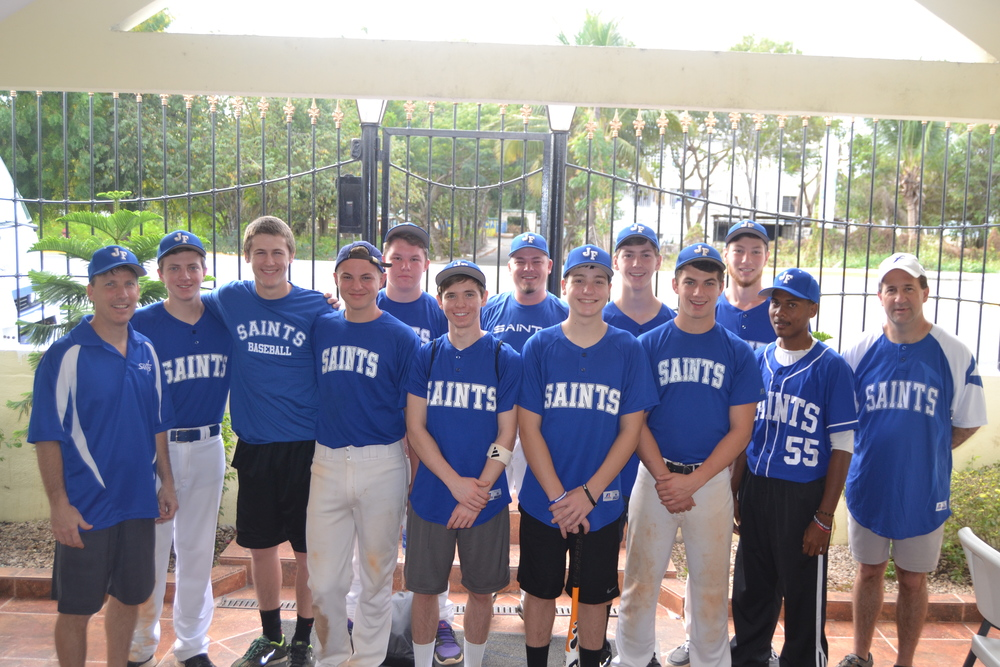 JF Saints Baseball 2014