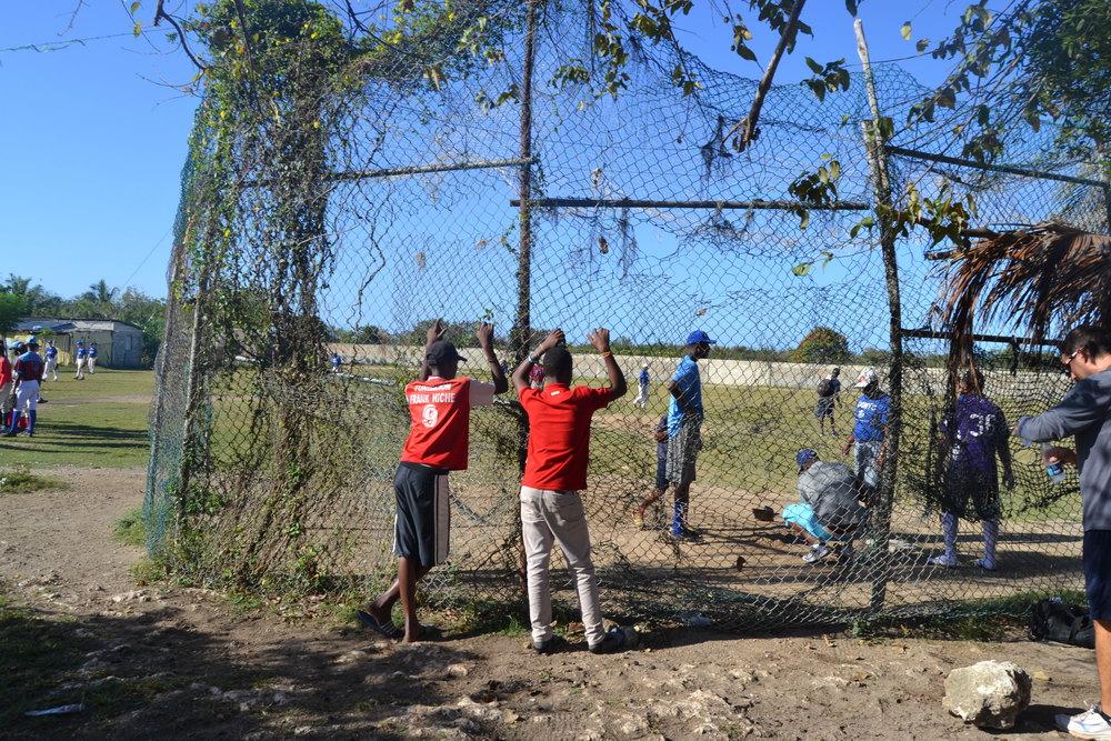 Field at Megapuerto, Boca Chica