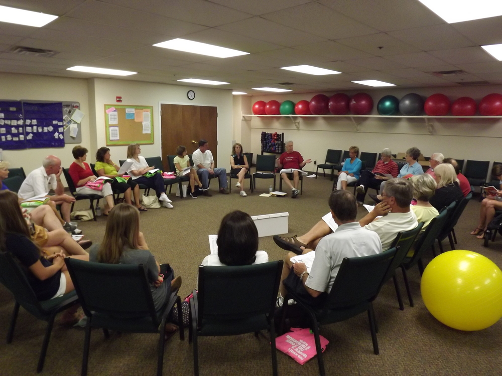 "The team members have been meeting to prepare for the mission ""festivals"" and lift up their plans in prayer."