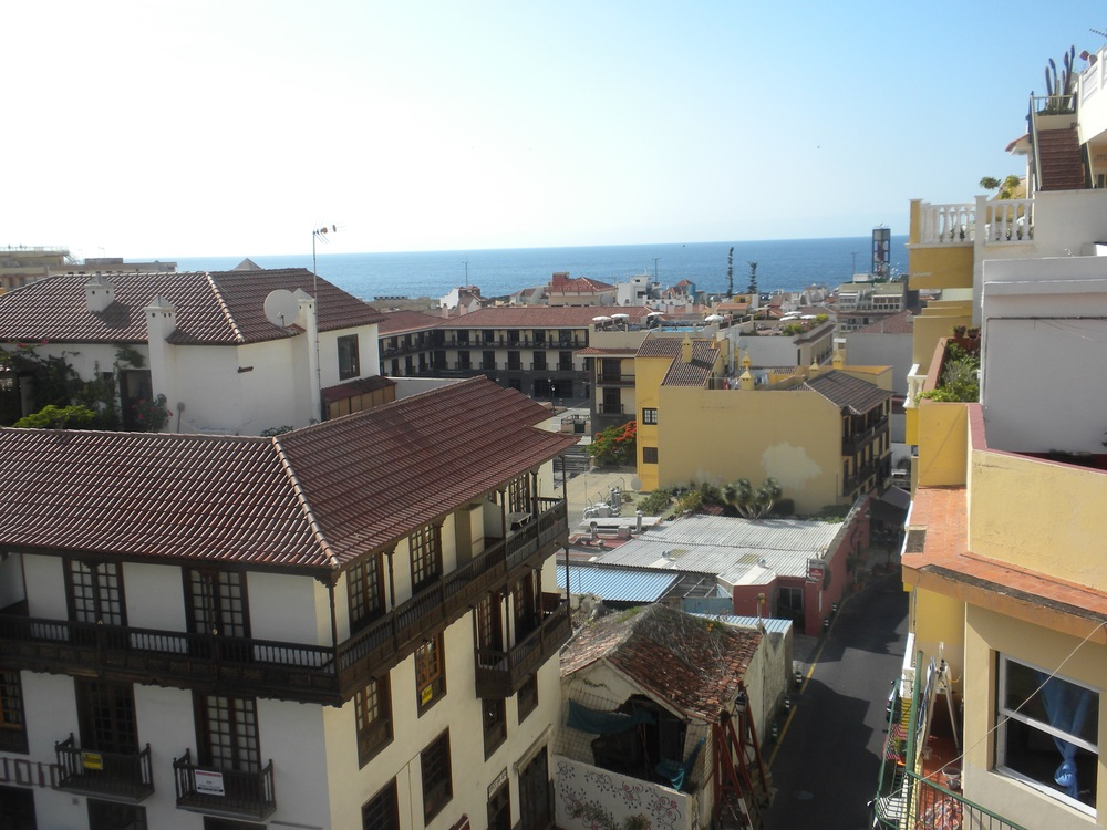 View of Atlantic from our hotel in Puerto de la Cruz, Canary Islands