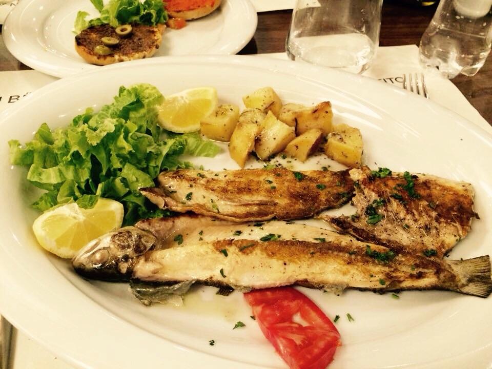 Local fish.