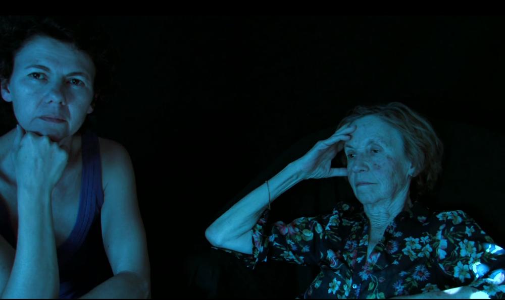 Cristina Nuñez, video still from La Vie en Rose