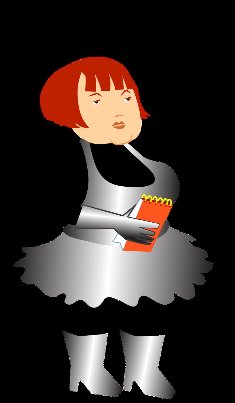 Kilobyte Diner Waitress