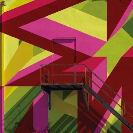Mural proposal detail. #rejected #mural #geometric #painting #streetart #adamdaily