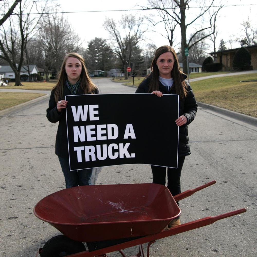 make it go viral. WE NEED A TRUCK!