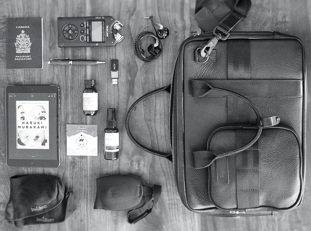What's in your carry-on?
