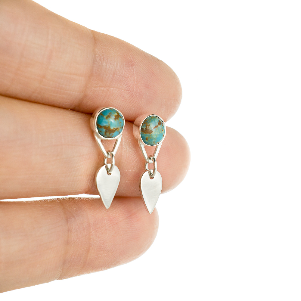 Melinda Y Butler - Turquoise Post Earrings Custom_.jpg