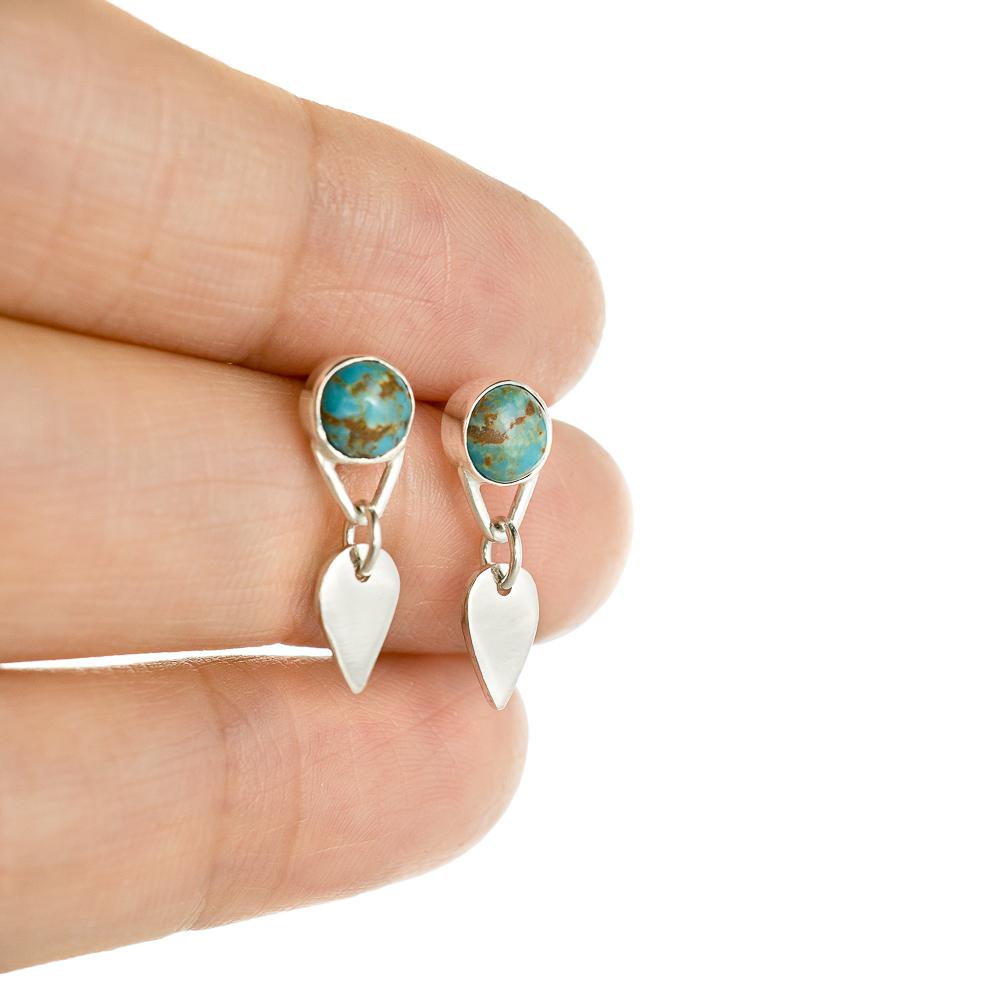 Melinda Y Butler - Turquoise Post Earrings Custom_.jpg