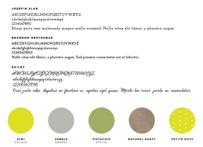 logo & identity system
