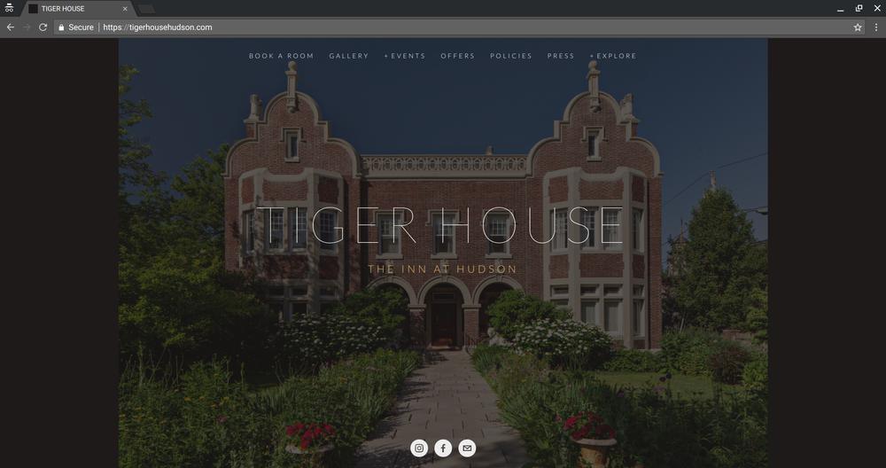 Tiger House: The Inn at Hudson