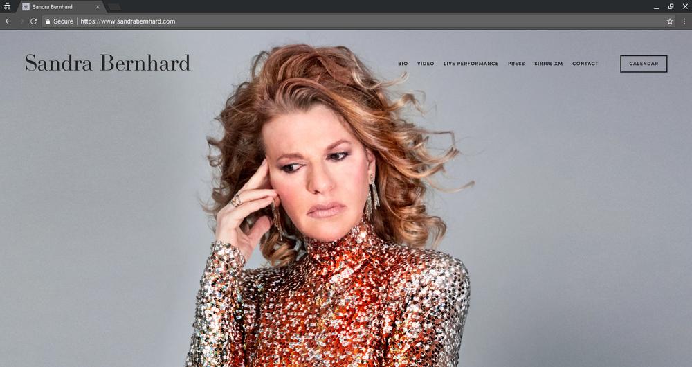 Client:  Sandra Bernhard