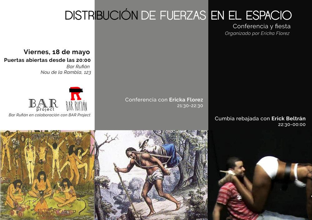 Ericka Florez: Conferencia y Fiesta