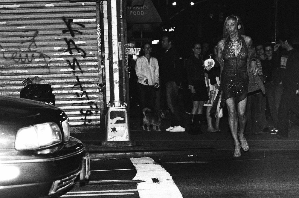 Shasta On SX Street, NYC, 2001