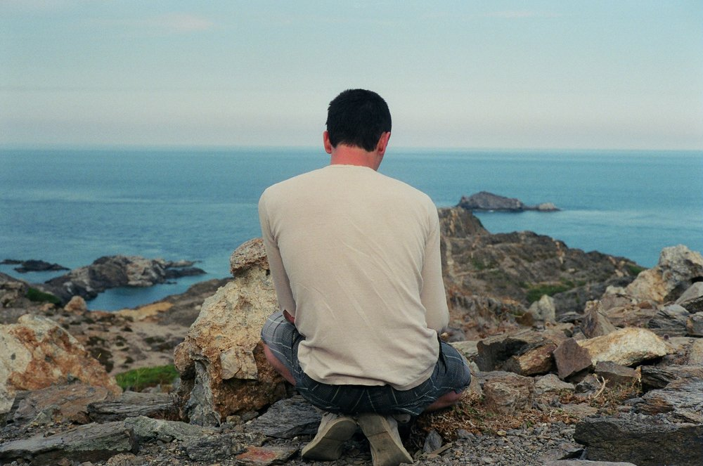 Adam and the Turtle Tail, Cadaques, 2009