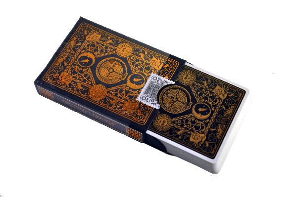 Gnostic-Deck-Rose-Gold,-deck-in-tuck-noBG.png