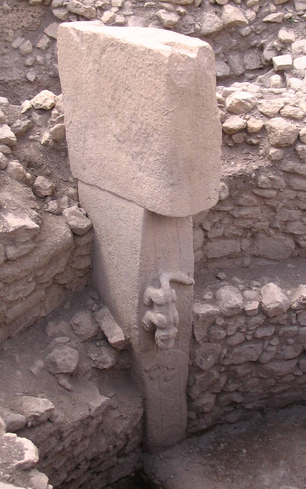 """GobeklitepeHeykel"" by Cannon A75, but image later modified. Licensed under Public Domain via Commons - https://commons.wikimedia.org/wiki/File:GobeklitepeHeykel.jpg#/media/File:GobeklitepeHeykel.jpg"