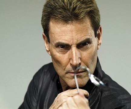 Uri Geller, The Mastermind Himself, doing what he does best.