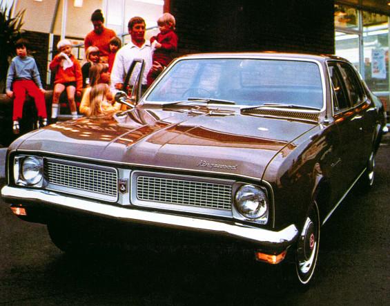HG Holden (1970-1971)