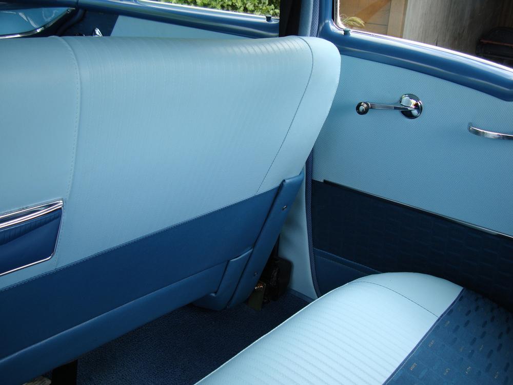 Code 656 Interior - Rear