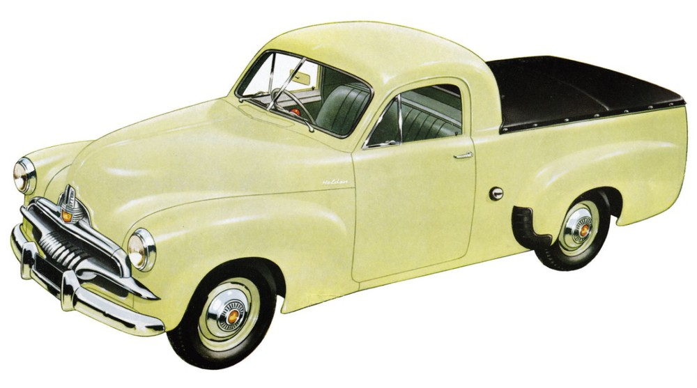Holden Ute History Richard Lewis